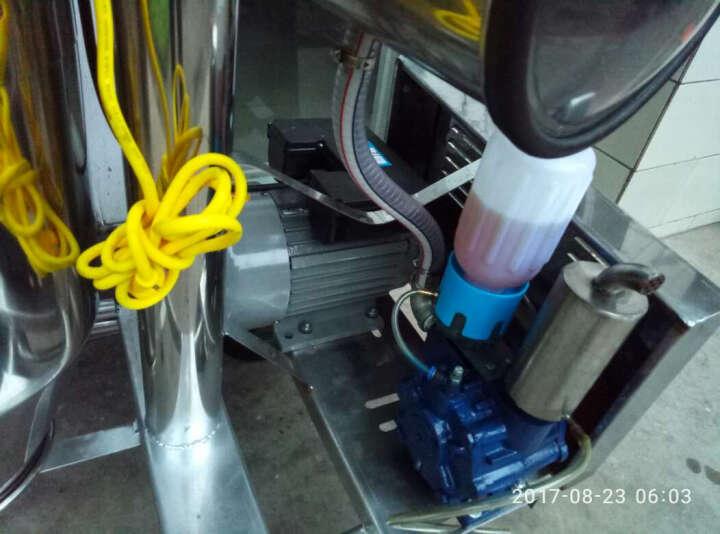 约克(YORK) 真空挤奶机  奶牛挤奶器 牧场用挤奶机 兽用器械 不锈钢架挤奶机 羊用双桶真空泵挤奶机 晒单图
