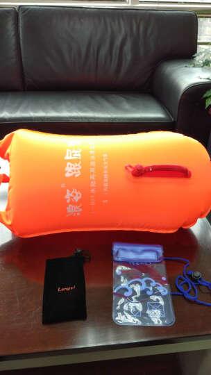 浪姿跟屁虫 L-901游泳漂流袋 游泳包送 浮潜装备 S 橙色 均码 晒单图