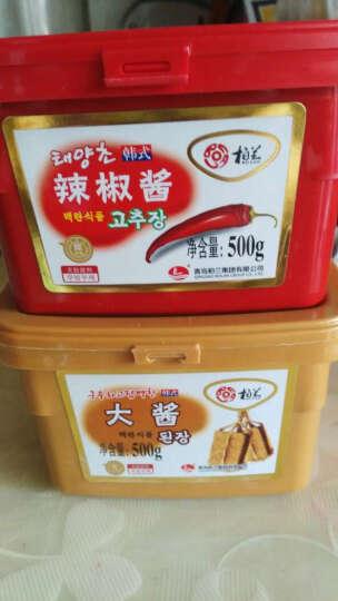 免邮韩式辣椒酱500g辣酱石锅拌饭酱炒年糕酱甜辣酱 晒单图