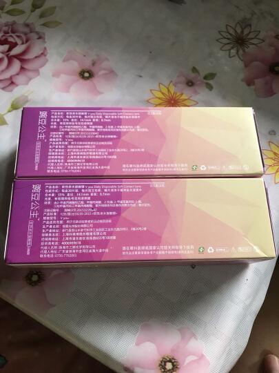 科莱博  豌豆公主抗UV非球面日抛隐形眼镜 30片装 325度 晒单图