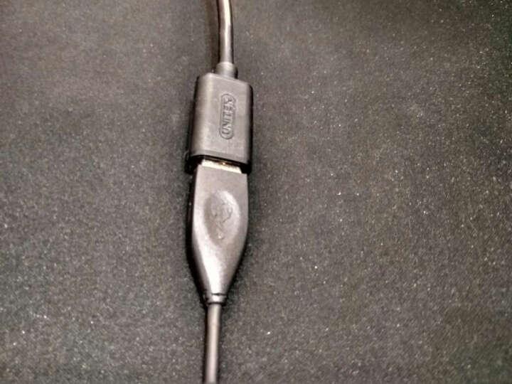 优越者(UNITEK)usb延长线 公对母 高速传输数据转接线 AM/AF 电脑USB/U盘鼠标键盘耳机加长线2米 Y-C450EBK 晒单图