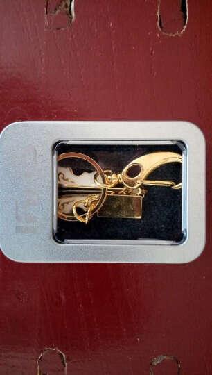 初忆(CHUYI)U盘8GB16GB32GB64GB USB2.0小提琴黄色(金属外观 商务创意) 白色金底 16GB 晒单图
