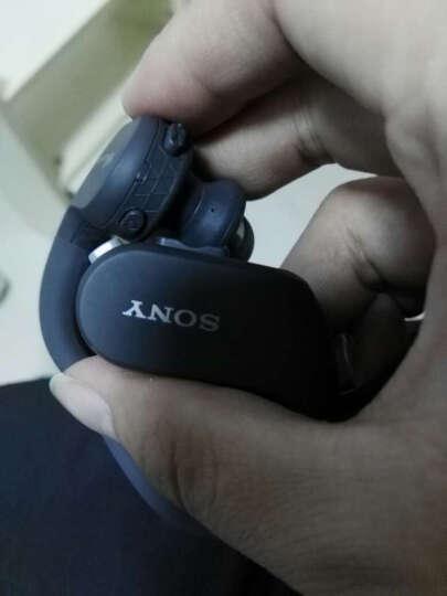 索尼(SONY)NW-WS414 MP3播放器迷你运动跑步游泳耳机防水随身听 黑色 晒单图