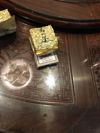 联台茗茶 茶叶 台湾阿里山冻顶高山乌龙茶 可冷泡新茶 礼盒装送礼 鹿谷炭香系列300克两罐四包装中焙火 晒单图