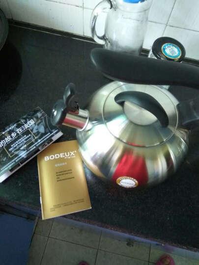 铂帝斯(BODEUX) 铂帝斯 马赛304不锈钢水壶3L电磁炉燃气通用烧水壶 晒单图