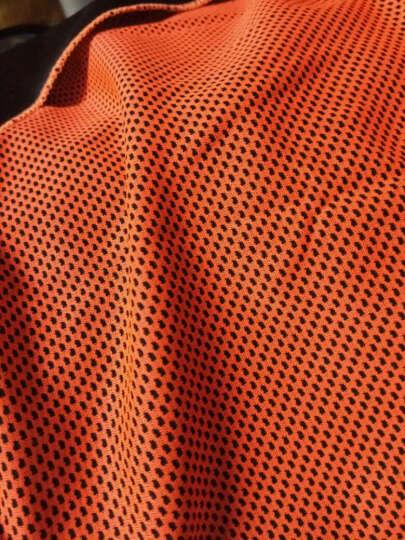 WITESS维特斯夏日优选冷感运动毛巾健身凉爽降温消暑 吸汗透气速干毛巾30*100cm 荧光橙 晒单图
