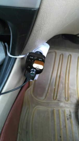 英才星(HSC)车载mp3蓝牙音乐播放器免提电话FM发射器点烟器双USB车载充电器快充 官方标配+二合一线+8G内存卡+读卡器 晒单图