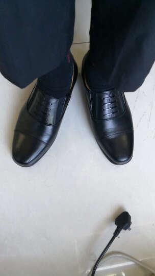 兵行者皮鞋 新式军迷鞋 三接头男皮鞋 军迷鞋服 07B常服皮鞋 41码 晒单图