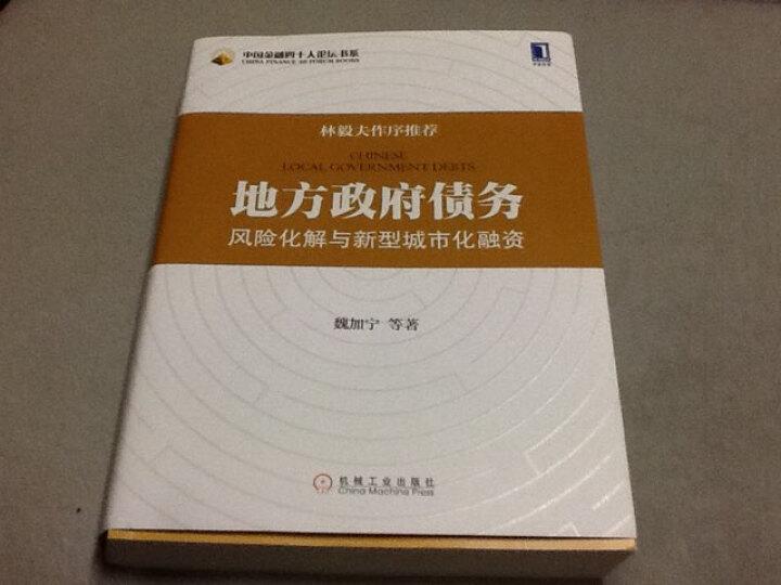 中国金融四十人论坛书系:地方政府债务风险化解与新型城市化融资 晒单图