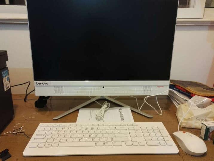 联想(Lenovo) AIO 510 致美一体机台式电脑 21.5英寸(I3 6100T 4G 1T 集成显卡 WIFI 蓝牙 win10)白 晒单图