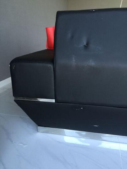 【木野】会客沙发 真皮简约MY-117 西皮1+2+3组合 晒单图