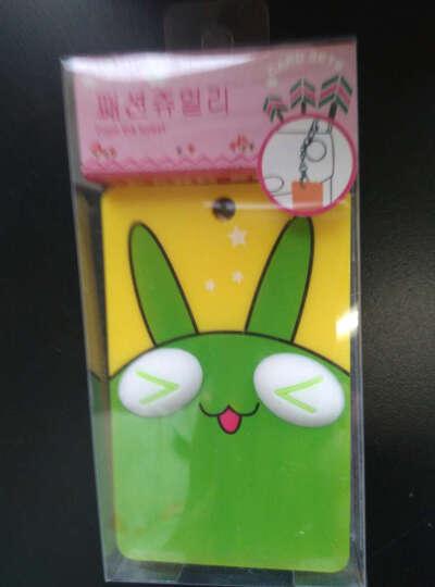 立体卡通公交卡套 交通卡夹 证件套 可爱门禁卡套 便携式钥匙扣 硬卡包 兔子 晒单图