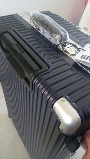 vanwalk 多功能商务拉杆箱 大容量行李箱 休闲旅行箱 蓝色 25寸 晒单图