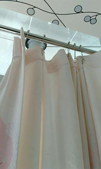 浴帘金属滚珠挂钩环不锈钢葫芦五铢大号窗帘杆挂钩 16个装 晒单图
