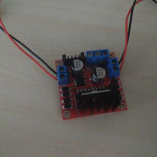 raspberry pi L298N 电机驱动板模块 原装芯片 步进 直流电机  晒单图