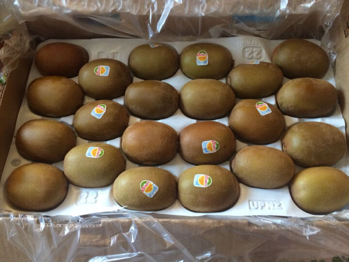 Zespri佳沛 新西兰阳光金奇异果 特大22#果 原箱时间魔法师装 约3.3kg 新鲜水果 晒单图