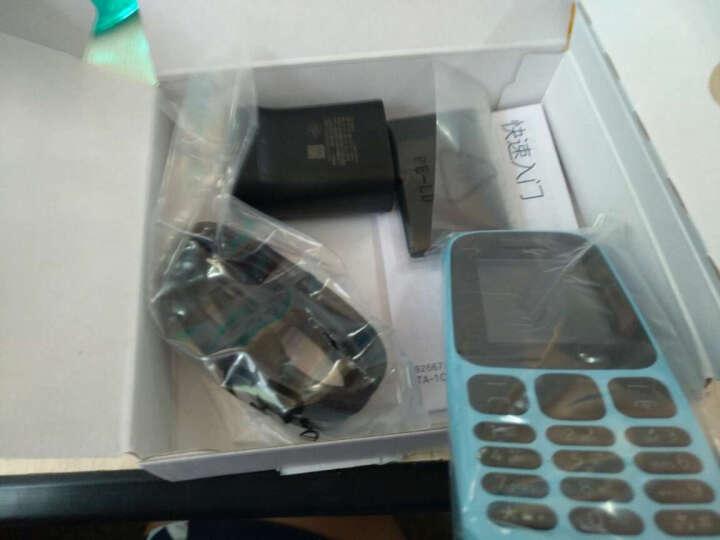 诺基亚(NOKIA)新105 蓝色 直板按键 移动联通2G手机 老人手机 学生备用功能机 晒单图
