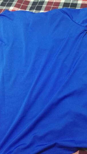 狼迹(Wolf's Trace) 狼迹速干t恤短袖速干衣男女款户外服装运动体能训练健身服春夏季透气款 宝蓝男 2XL 晒单图