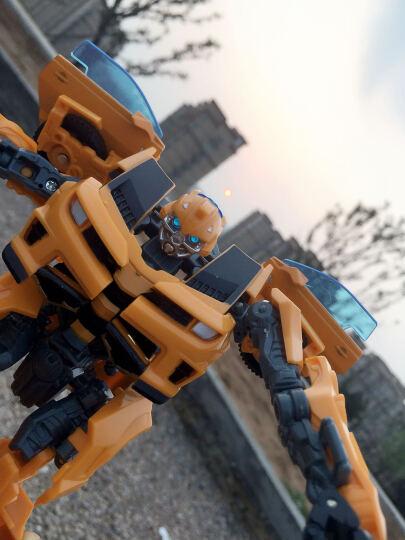 变形玩具金刚擎天柱合金金属大黄蜂汽车人机器人 收藏模型变形金刚玩具儿童男孩女孩生日礼物圣诞节礼物 [套餐]黄蜂+擎天+钢索+铁渣 晒单图
