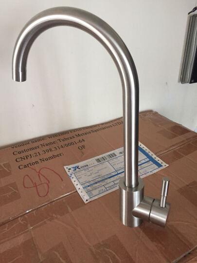 维美艺佳(VIMIKA) 食品级304不锈钢厨房水龙头 可旋转冷热洗菜盆水槽水龙头 万向款 晒单图
