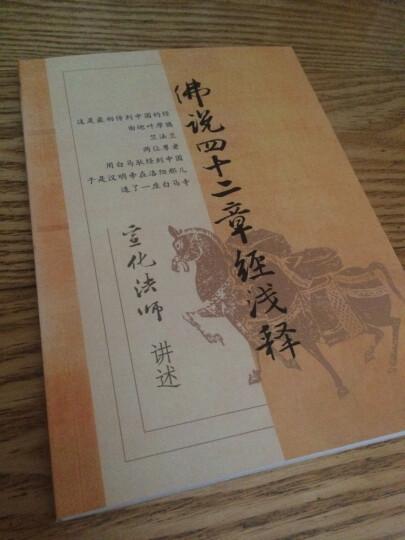 佛说四十二章经浅释 宣化法师 讲述宗教文化出版社16 晒单图