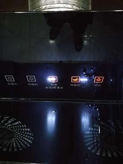 樱智(YINGZHI) 抽油烟机侧吸式智能体感弧形双电机自动清洗烟灶套装可选 油烟机搭配蓝心猛火灶.罐装液化气(套装) 自行安装 晒单图