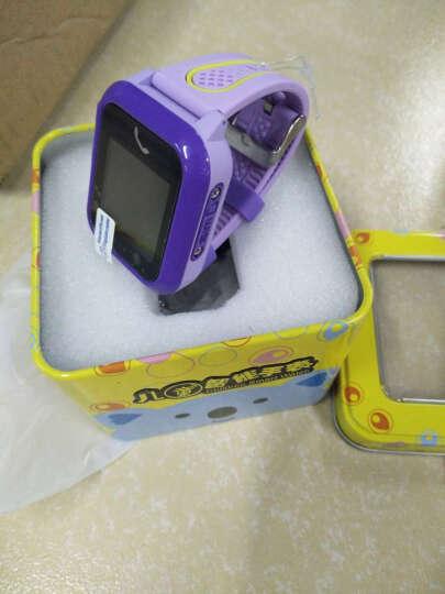 儿童电话手表 360度防水安全防护触屏智能定位手表男女支持苹果华为vivo oppo手机 魔仙炫酷紫GPS版 晒单图