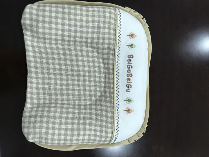 贝谷贝谷 婴儿枕头儿童乳胶枕双层0-1-6岁苎麻透气枕幼儿小孩宝宝枕头 婴幼儿双用乳胶 晒单图
