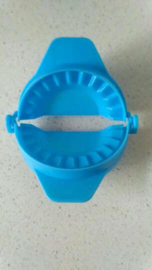 创意厨房 彩色手动包饺子器 饺子模具 饺子夹 水饺 蓝色 晒单图