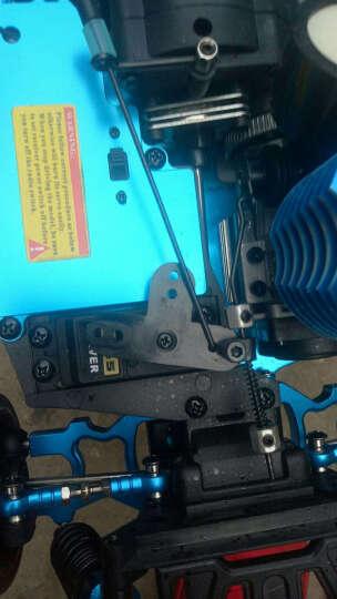 燃油遥控车加油四驱油动平金属底盘跑车越野车 汽油烧油甲醇RC漂移车赛车玩具 碳合金GTR (电启动) 晒单图