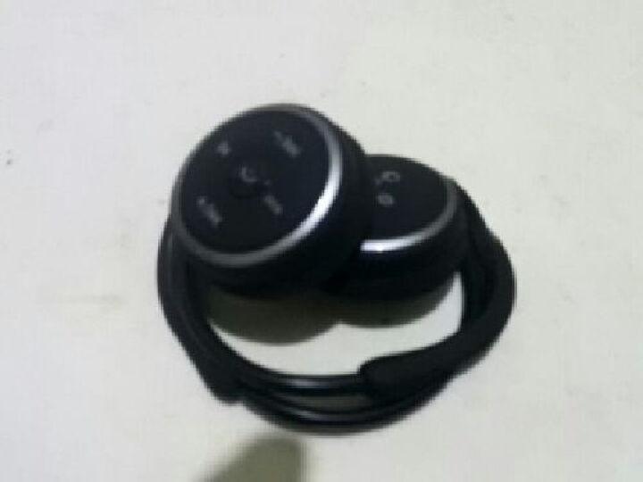 率先SUICEN 蓝牙耳机立体声头戴式4.0运动型通用手机无线音乐耳机AX698 黑色4G T卡+读卡器 晒单图