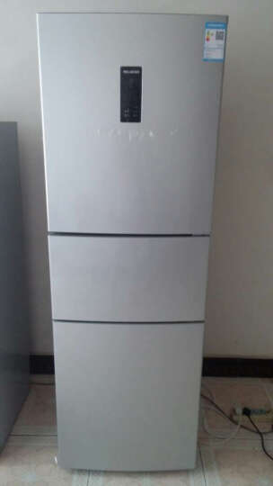 美菱(MeiLing)BCD-235WE3CX 235升风冷三门冰箱(银色) 晒单图