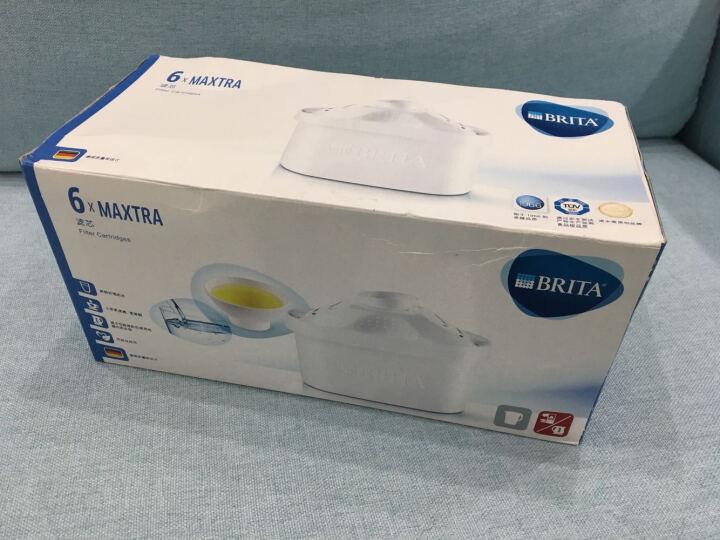 碧然德(BRITA)家用滤水壶净水壶 金典系列Marella3.5白+多效滤芯6枚装【1壶7芯】 晒单图