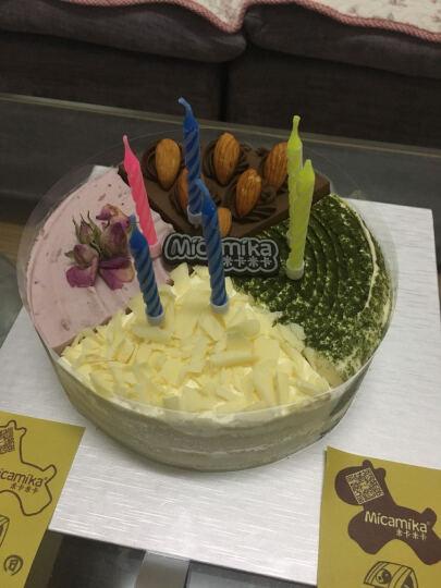 米卡米卡  欢乐颂 多口味生日蛋糕超值推荐热卖西式糕点坚果巧克力抹茶水果慕斯蓝莓水果芝士 1.5磅 适合3-5人食用 晒单图