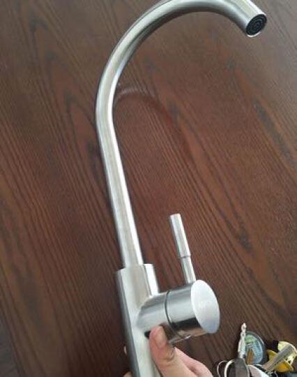 维美艺佳(VIMIKA) 食品级304不锈钢厨房水龙头 可旋转冷热洗菜盆水槽水龙头 经典款 晒单图