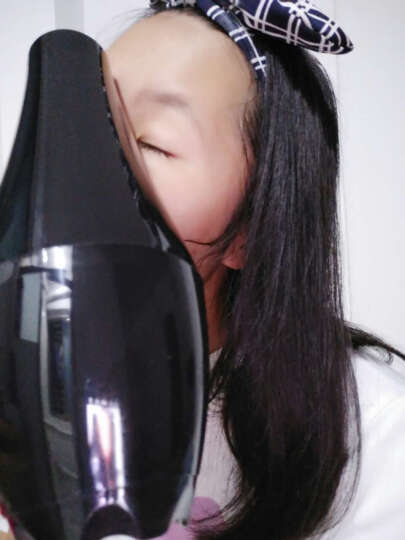 【吴京代言】永日家用电吹风机蓝光离子2100W大功率专业发廊恒温冷热风静音吹风筒 黑色(2100W) 晒单图