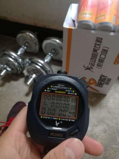 天福秒表PC3860 三排60道秒表 记忆电子计时秒表 田径运动秒表 多功能倒计时秒表  晒单图