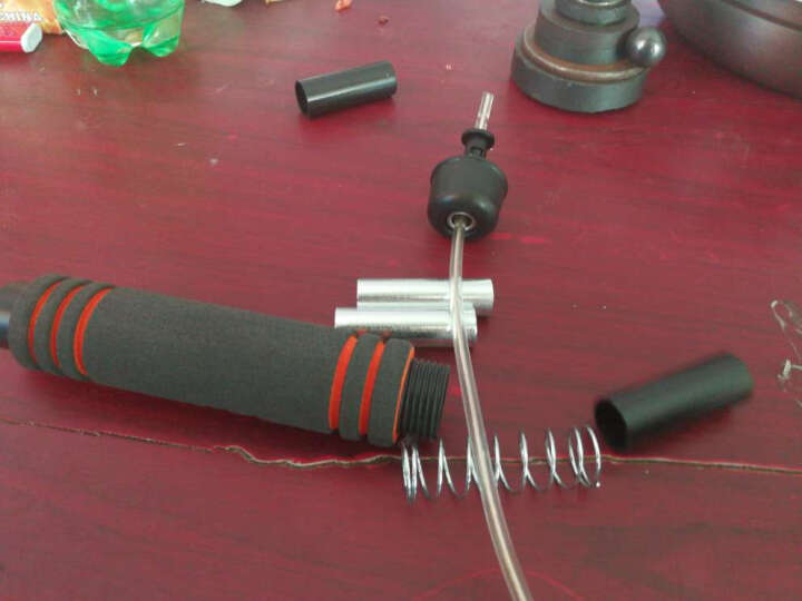 kufun 跳绳减肥专业轴承成人学生儿童健身中考可调节绳子 负重钢丝款-双层包芯钢丝绳-送收纳袋 晒单图