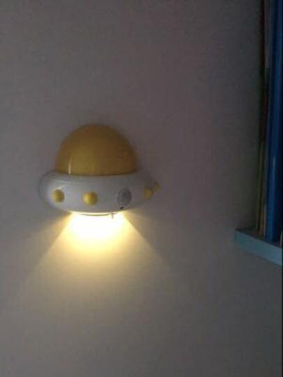 小夜灯卧室氛围睡眠遥控灯婴儿喂奶灯插座灯可充电插电夜光灯儿童床头睡觉起夜灯哺乳情趣母婴夜间哺乳灯 蓝色-充电遥控款 晒单图