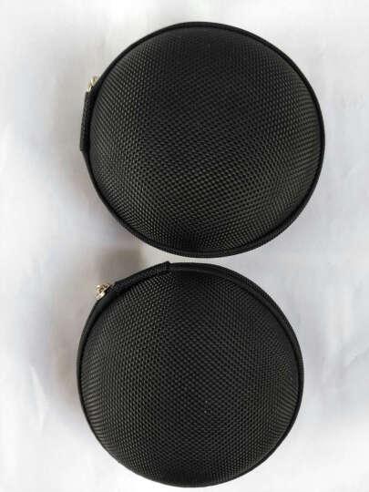 JIXINI纪希尼 便携耳机线收纳包防压耳机包耳机盒防震数据线充电器包零钱包数码配件保护包 珍珠粉 晒单图