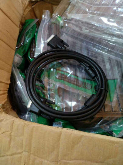 HD-LINK DVI 18+1 DVI线 DVI-D高清线 电脑接显示器投影仪 单通道线 黑色 3米 晒单图