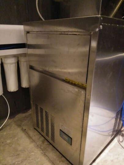 乐创(lecon) 商用制冰机方块制冰机大型制冰机全自动制冰机奶茶店酒吧KTV 80KG弧形制冰机 晒单图