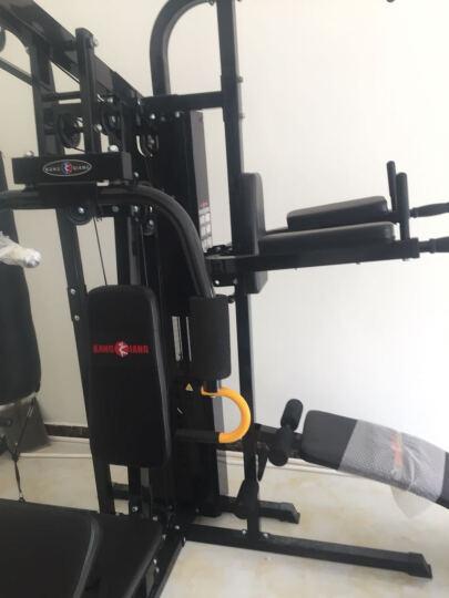 康强 综合训练器 多功能力量械 家用健身器材 三人站组合健身器材 四人站810C 晒单图