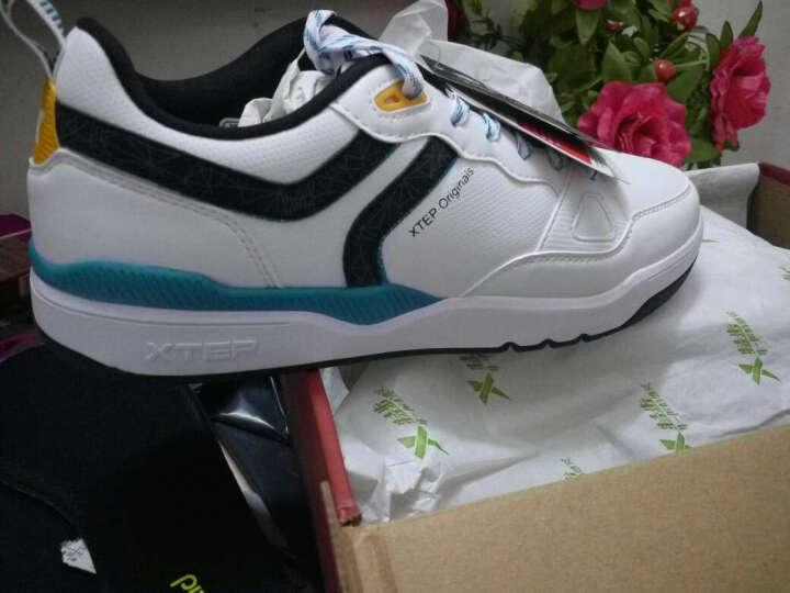 特步男鞋运动鞋跑步鞋男鞋垫舒适缓震柔软 黑 42 晒单图