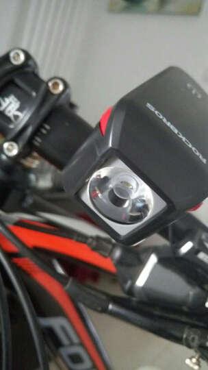 洛克兄弟(ROCKBROS) 自行车电喇叭超大声山地车公路喇叭安全电铃铛单车装备 黑色(单喇叭) 晒单图
