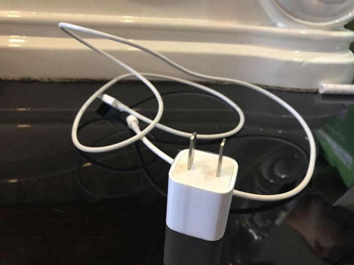 拓恩 苹果手机充电器头/数据充电线 适用iphone5/6s/7/8 Plus/X/iPad/air iPad 12W USB 电源适配器 晒单图