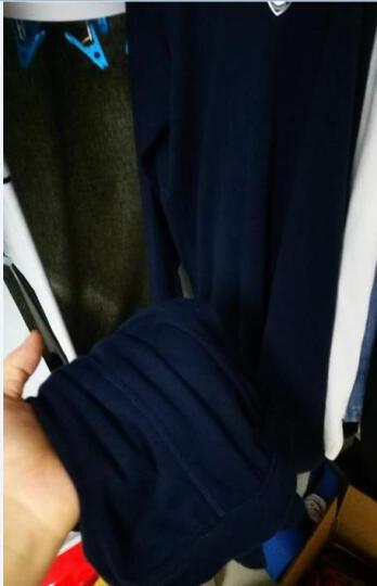 雪中飞 秋衣秋裤男女情侣薄款纯棉V领打底保暖内衣本命年鸿运套装 鸿运V领【本命年套装】 170/95(男款L)(女款XL) 晒单图