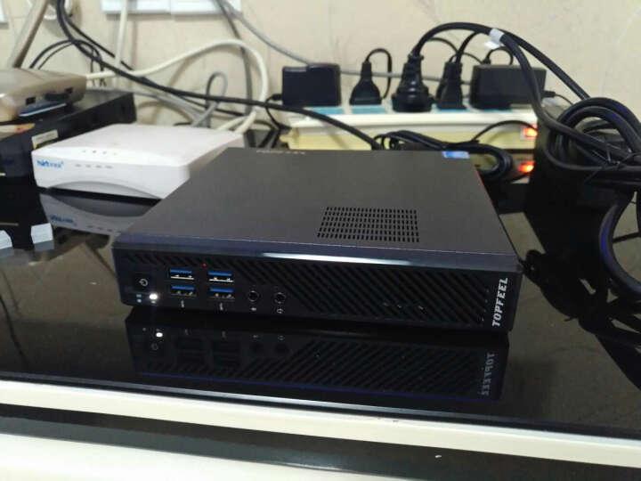 极夜(topfeel)T68M 迷你4K商用台式机电脑主机(七代i5-7500 8G 128G固态+1T DP COM串口 WiFi 蓝牙 三年上门) 晒单图