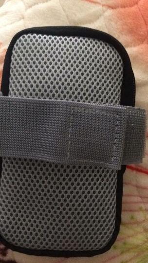 美斯捷 手机臂包跑步男式女士5.5英寸臂套袋手臂包手腕 华为P10/mate9/p9/nova-橘色 晒单图