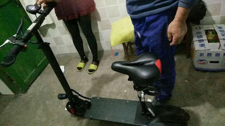 英格威 电动滑板车8寸P7款便携式迷你可折叠锂电池电动自行车电瓶车代步车36V男女通用 旗舰版36V21A60-80KM 晒单图